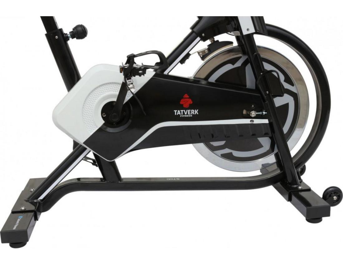 Велотренажер USA Style SS-70 C бел/черн