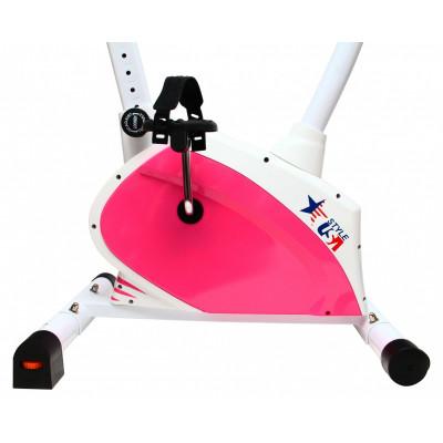 Велотренажер USA Style розовый SS-7789D