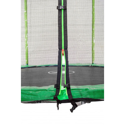 Батут Atleto 183 см зеленый