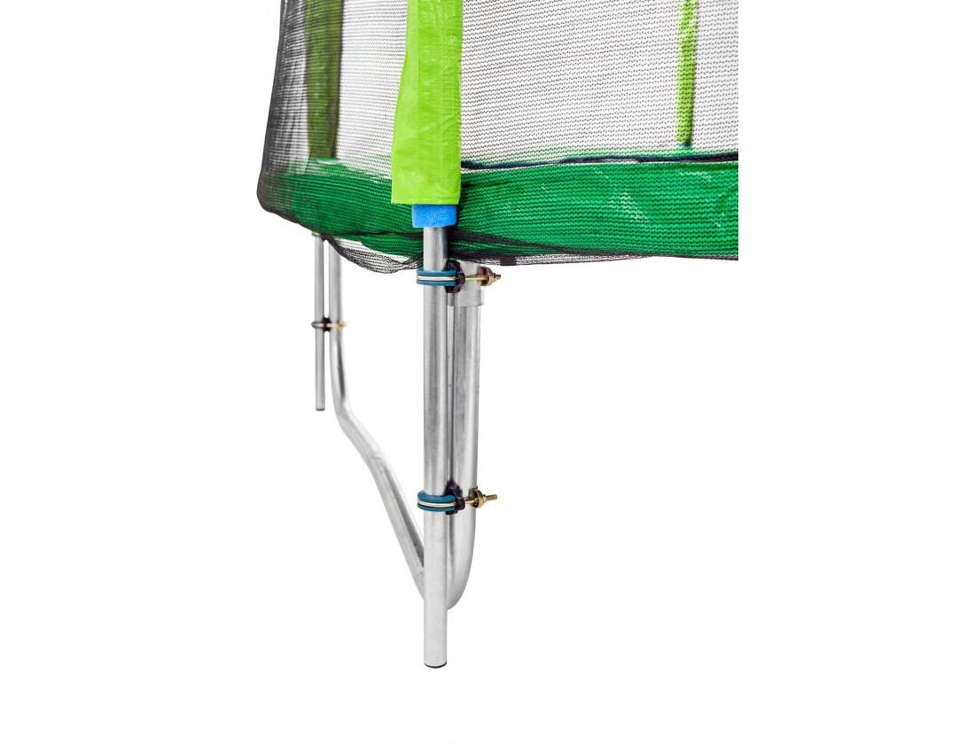 Батут Atleto 404 см зеленый