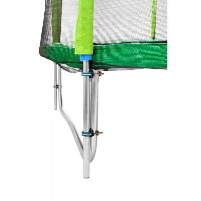 Батут Atleto 252 см зеленый