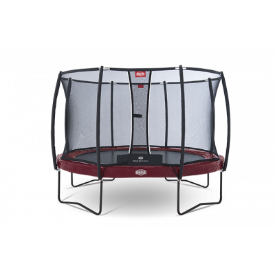 Батут BERG Elite+ Regular Red 330 с защитной сеткой Safety Net T-series 330