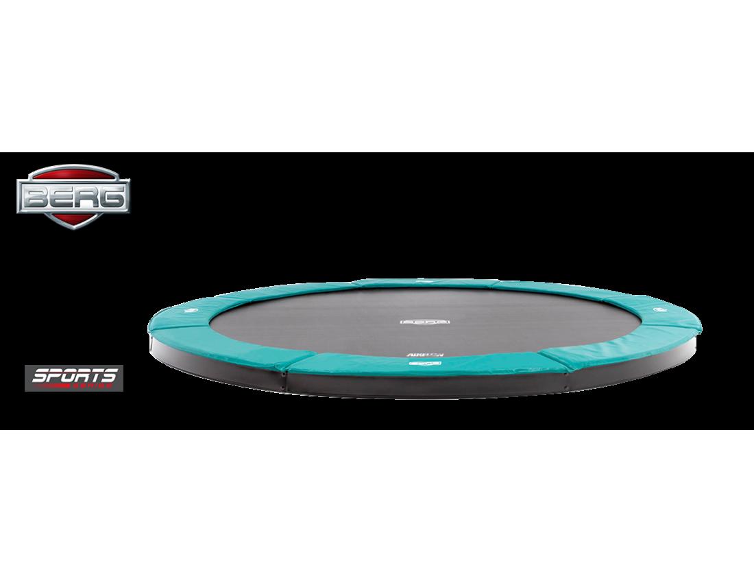 Батут BERG FlatGround Champion Green 330 см