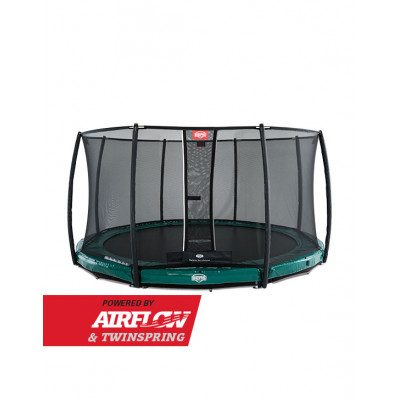 Батут BERG InGround Elite Green 380 см