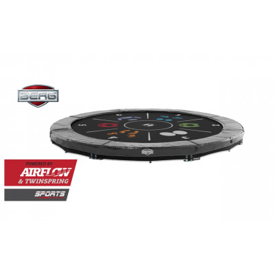Батут BERG InGround Elite Grey 380 см
