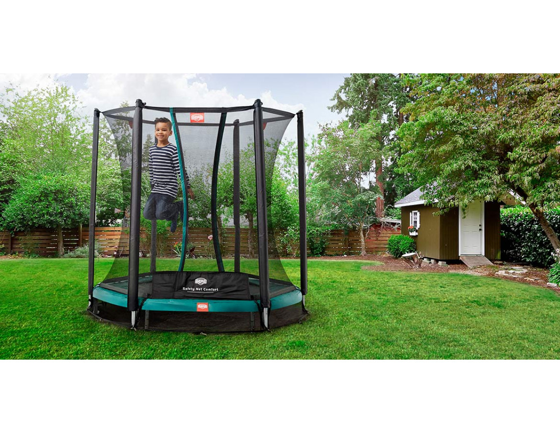 Батут BERG InGround Talent 240 + Safety Net Comfort