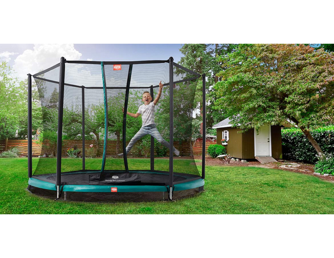 Батут BERG InGround Talent 180 + Safety Net Comfort