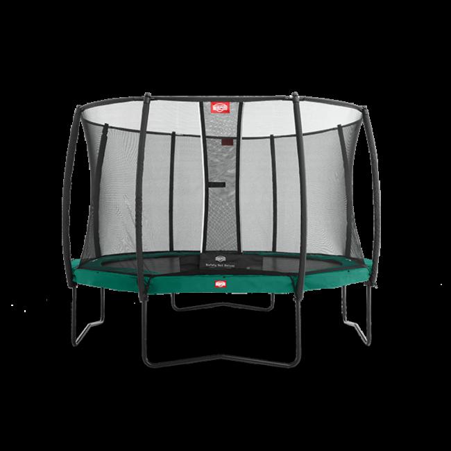 Батут Berg Champion 270 см с защитной сеткой Safety Net Deluxe