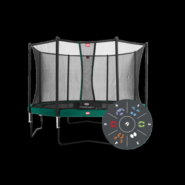Батут Berg Champion Tatoo 430 см с защитной сеткой Safety Net Comfort