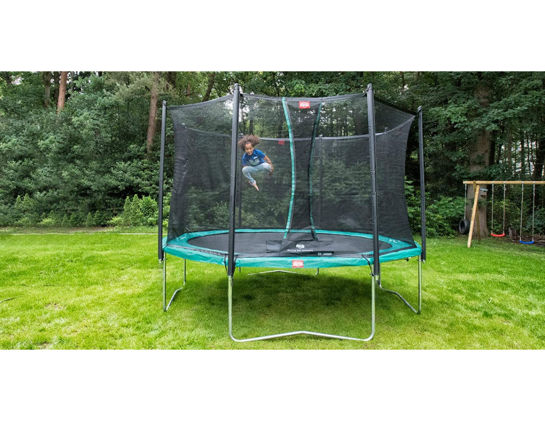 Батут BERG Favorit Grey 330 + Safety Net Comfort