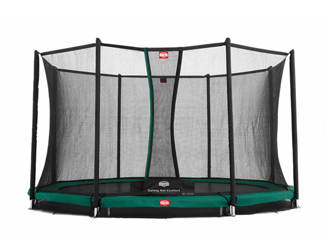 Батут Berg InGround Favorit 270 см с защитной сеткой Safety Net Comfort InGround