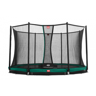Батут Berg InGround Favorit 270 см с защитной сеткой Safety Net Deluxe