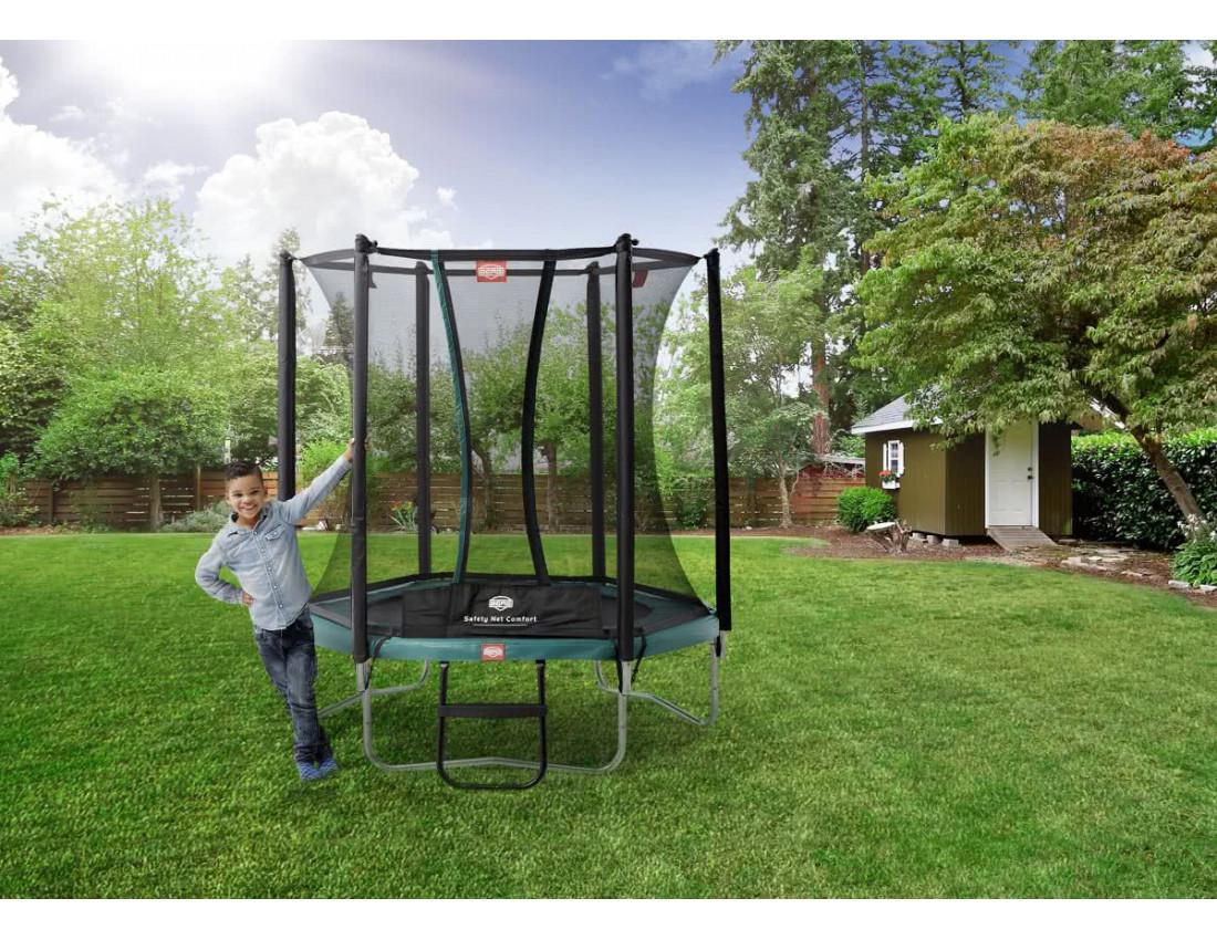 Батут Berg Talent 180 см с защитной сеткой Safety Net Comfort