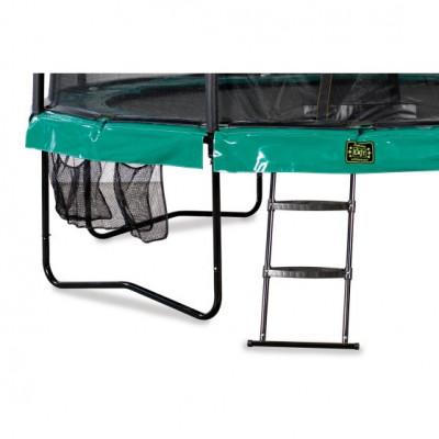 Батут EXIT Supreme 305см с защитной сеткой и лестницей