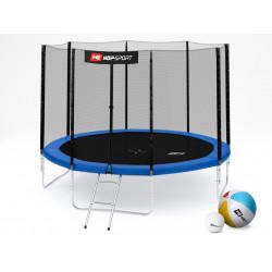 Батут Hop-Sport 10ft 305 см с внешней сеткой 4 ноги