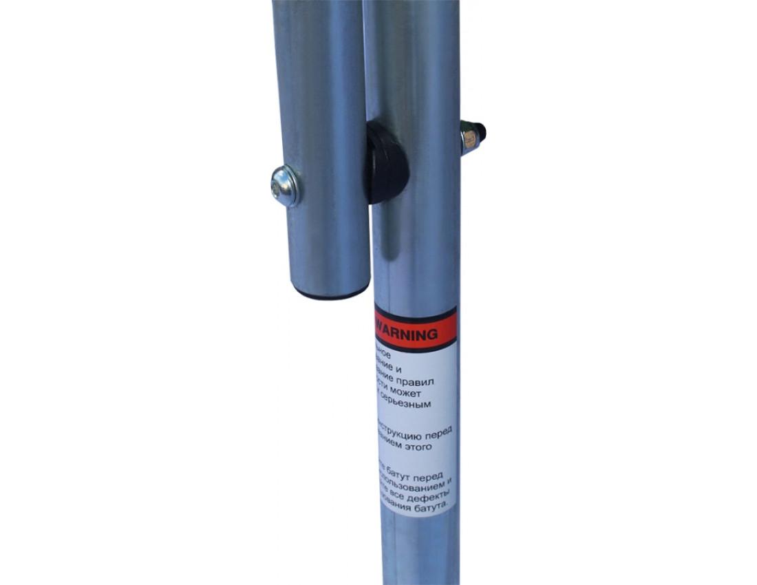 Батут KIDIGO 140 см с защитной сеткой BT140
