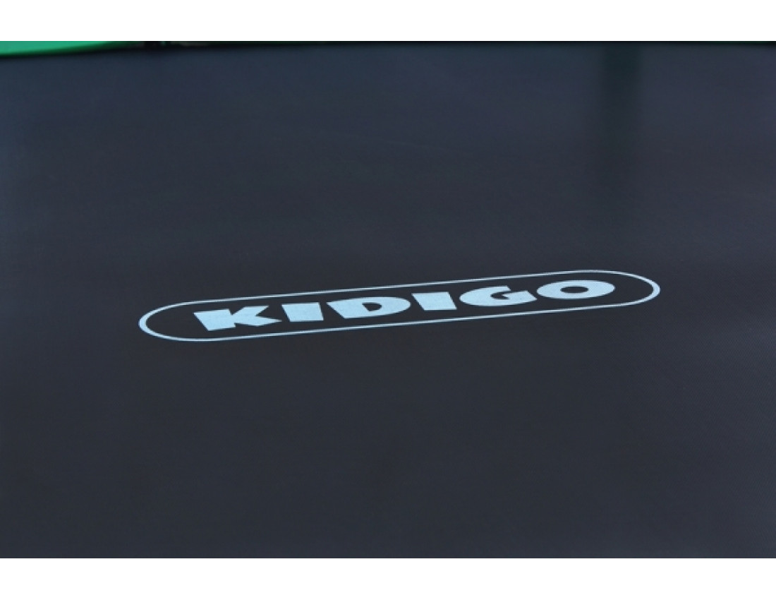 Батут KIDIGO VIP BLACK BTV 244 с защитной сеткой SBTV