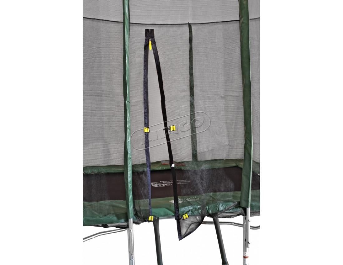 Прямоугольный батут KIDIGO 215 х 150 см с защитной сеткой BT215-150