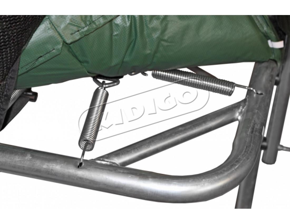 Прямоугольный батут KIDIGO 457х305 см с защитной сеткой + лестница
