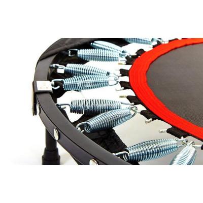 Батут Zelart FI-4409 с ручкой складной круглый