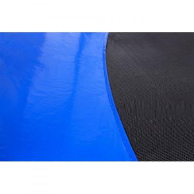 Батут FunFit с внешней сеткой и лесенкой 252 см синий