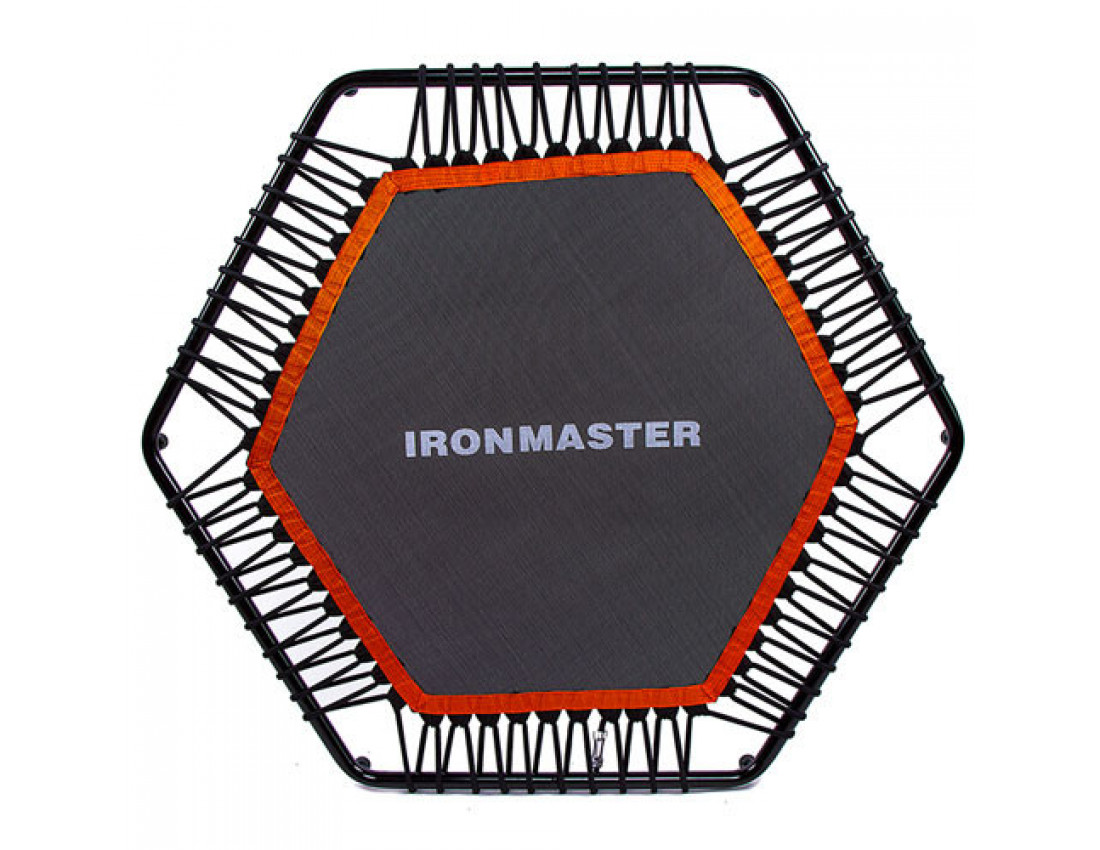 Батут для фитнеса с ручкой IronMaster 127см