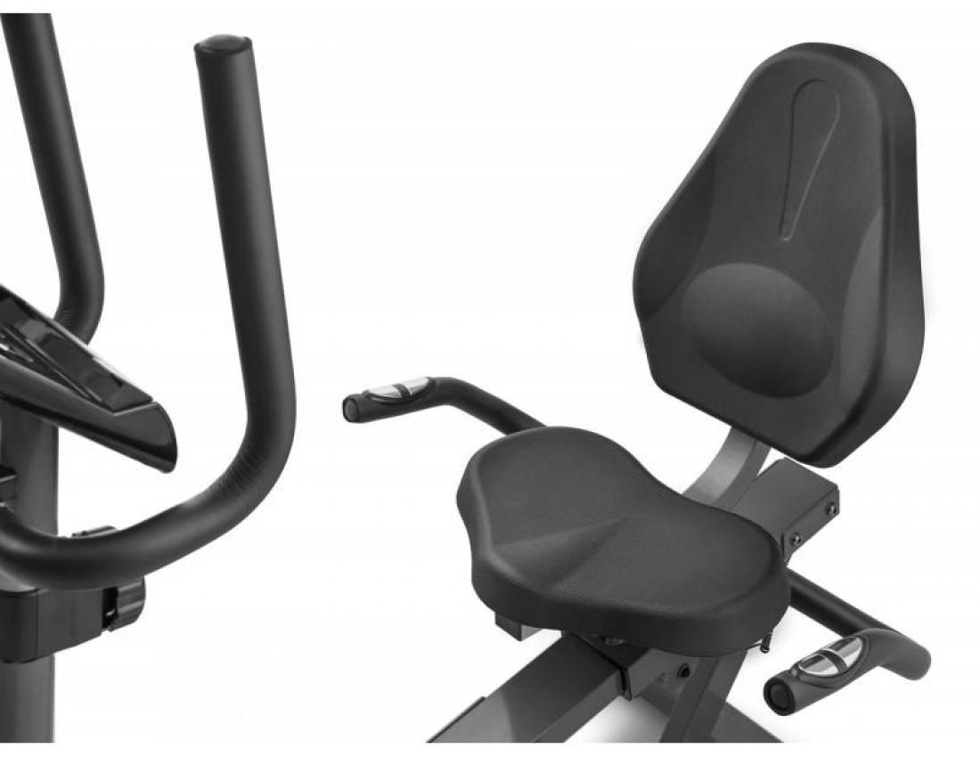 Горизонтальный велотренажер Elitum LX350 Black
