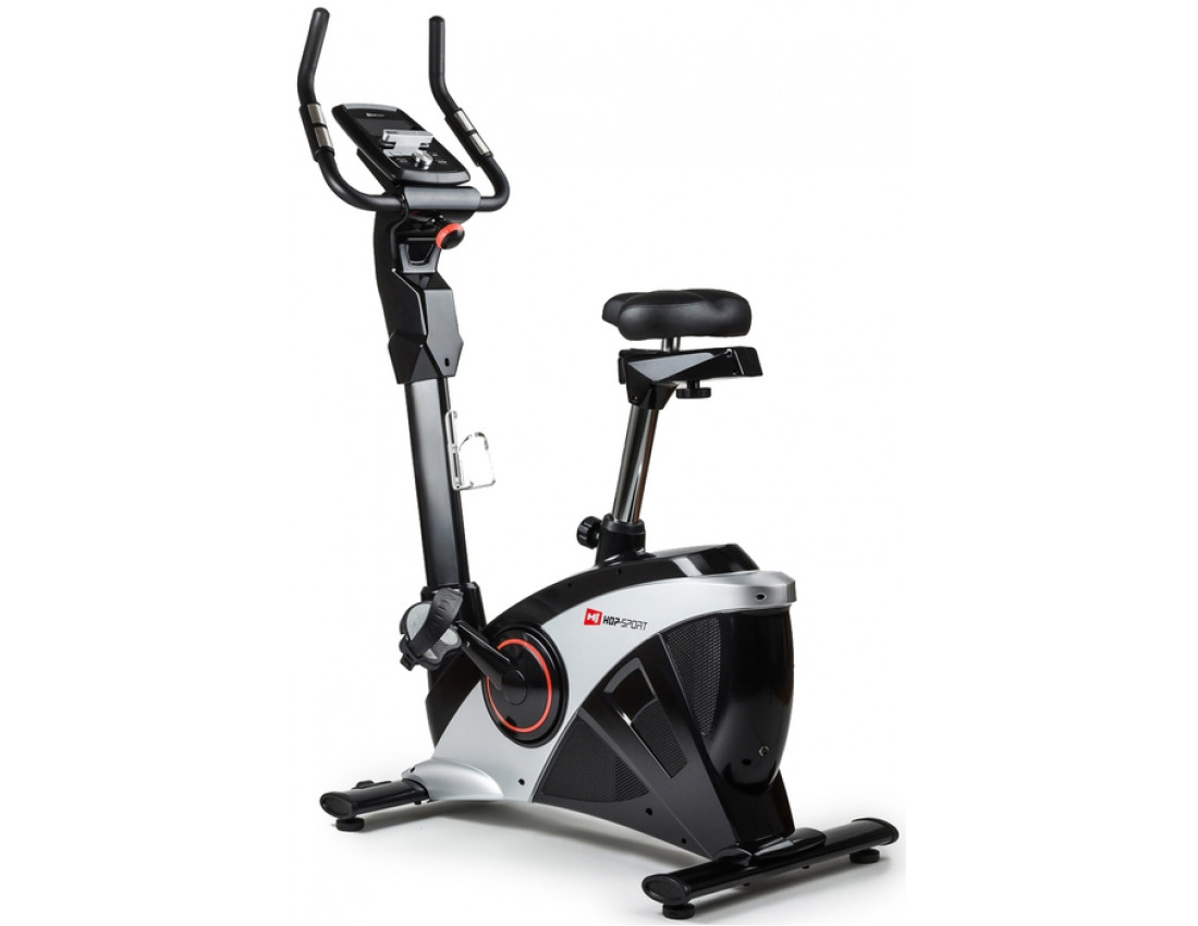 Велотренажер Hop-Sport HS-090H Apollo graphite/black+ мат