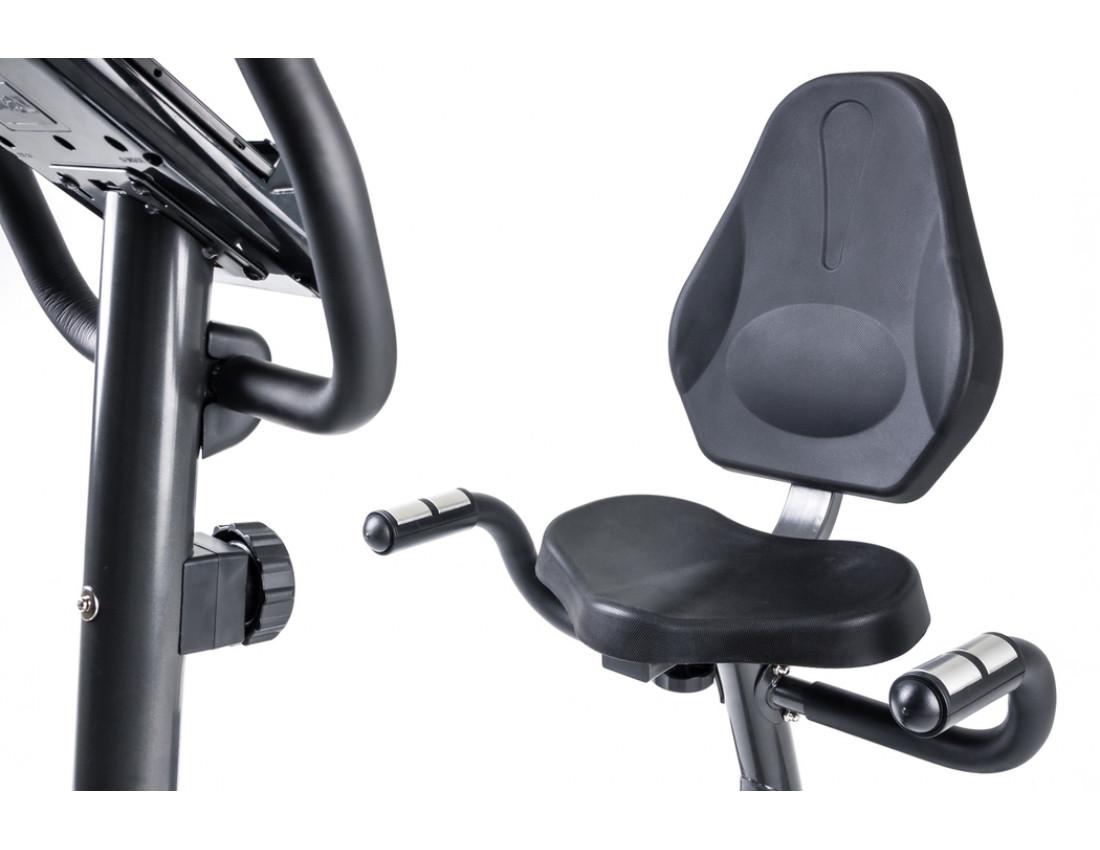 Горизонтальный велотренажер Hop-Sport HS-67R Axum black/red