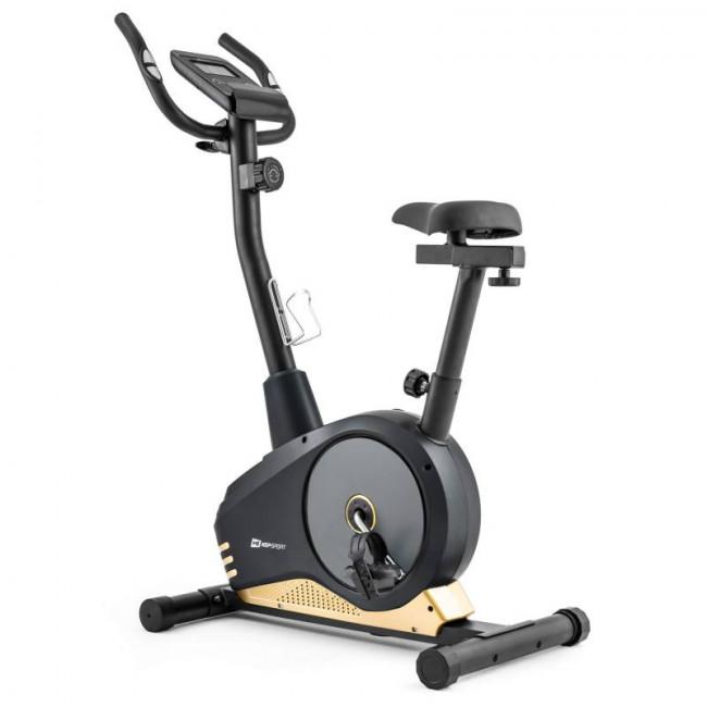 Велотренажер Hop-Sport HS-2080 Spark model 2020 black/gold