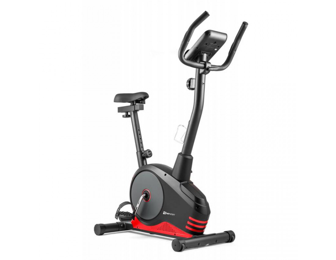 Велотренажер Hop-Sport HS-2080 Spark model 2020 black/red