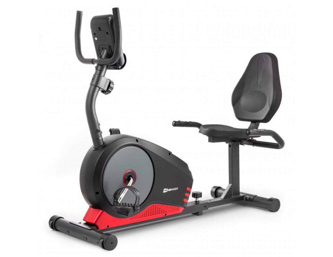 Горизонтальный велотренажер HS-040L Root black/gray