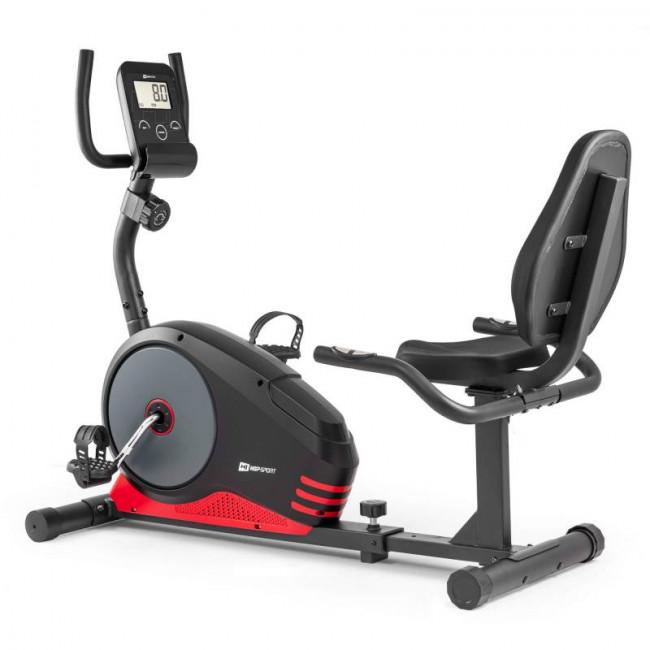 Горизонтальный велотренажер HS-040L Root black/red