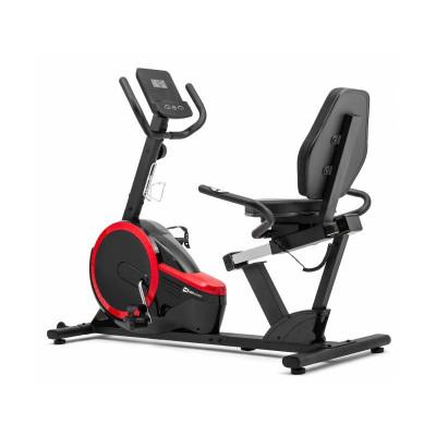 Горизонтальный велотренажер Hop-Sport HS-060L Pulse Gray