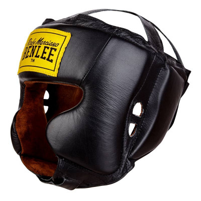 Шлем защитный BENLEE Tyson 196012 кожа Черный S/M