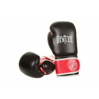 Боксерские перчатки Benlee Carlos Black-Red-White 12 oz