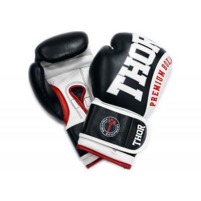 Боксерские перчатки Thor Shark PU 14 oz Green