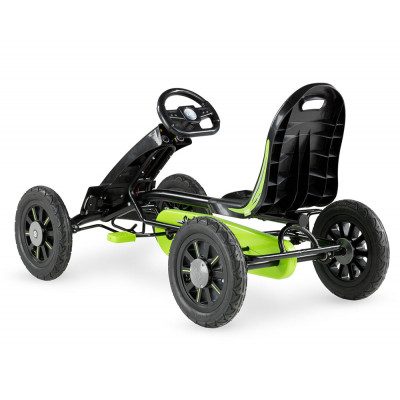 Веломобиль EXIT Spider green/black