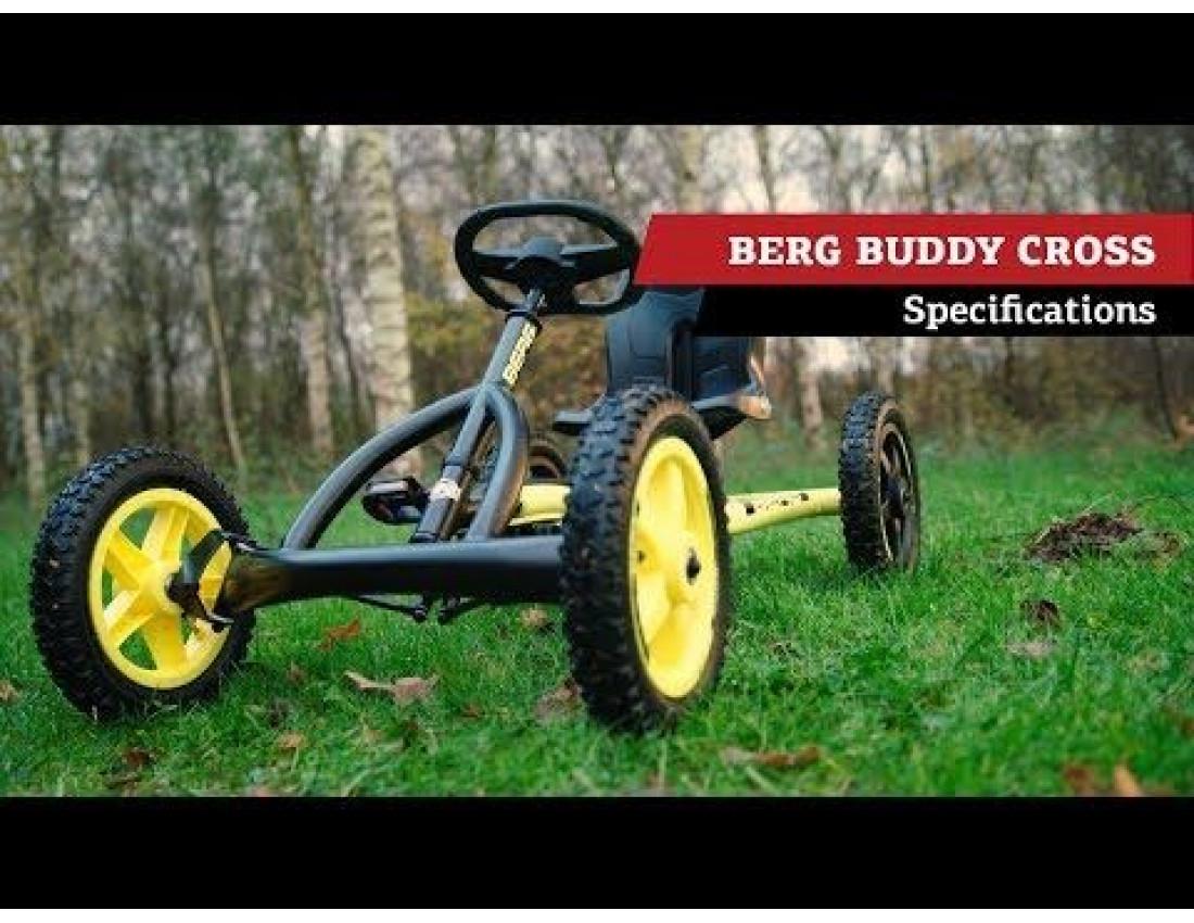 Веломобиль BERG Buddy Cross