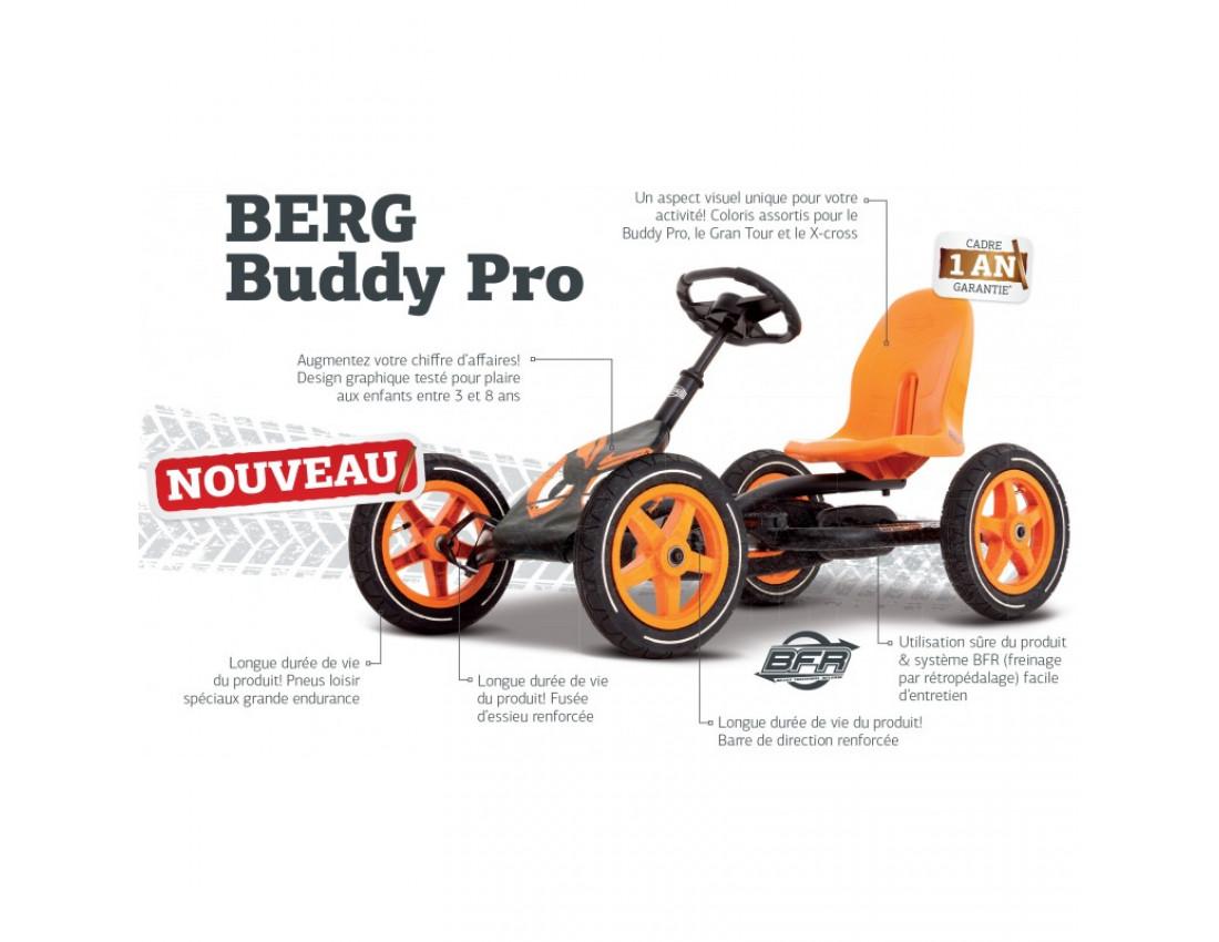 Веломобиль BERG Buddy Pro