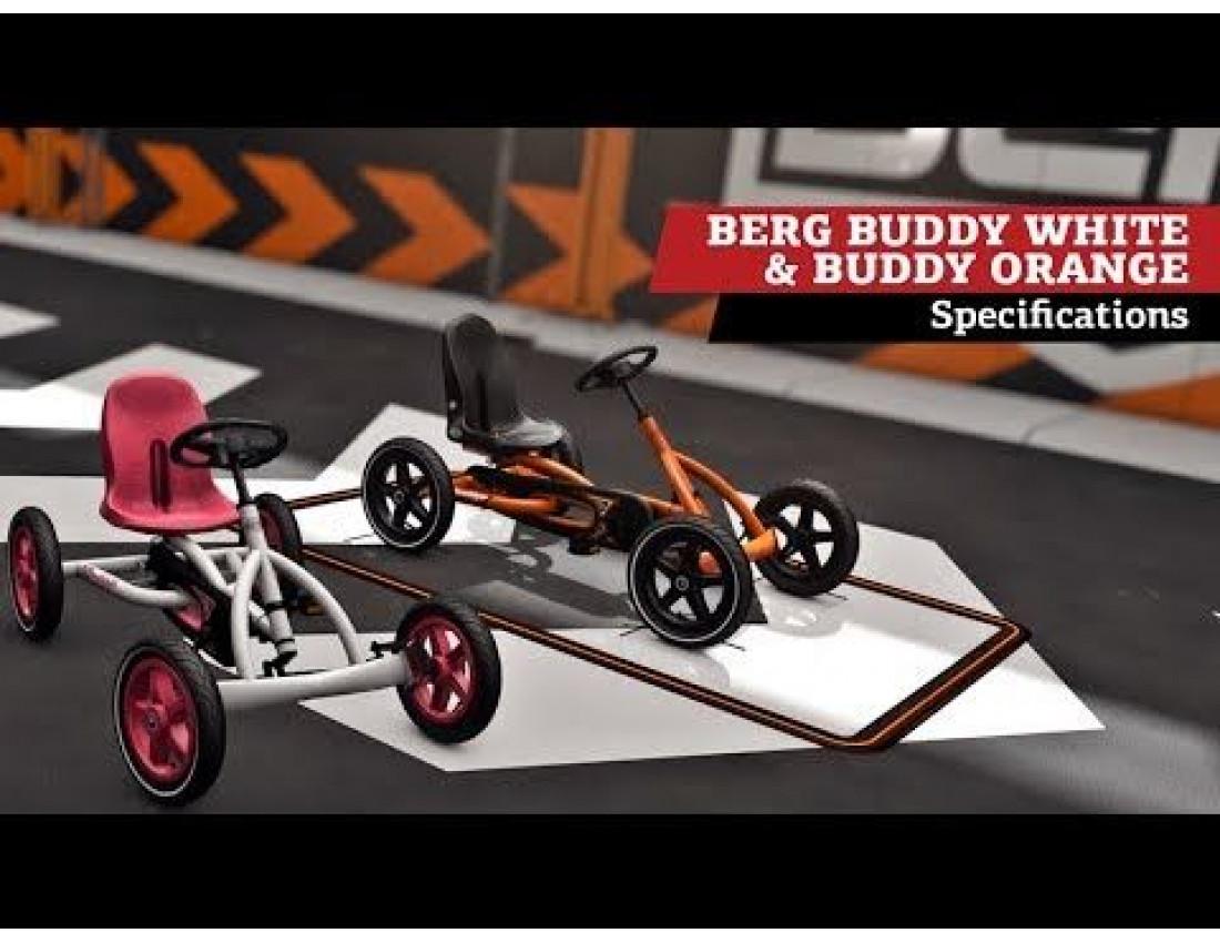 Веломобиль BERG Buddy White