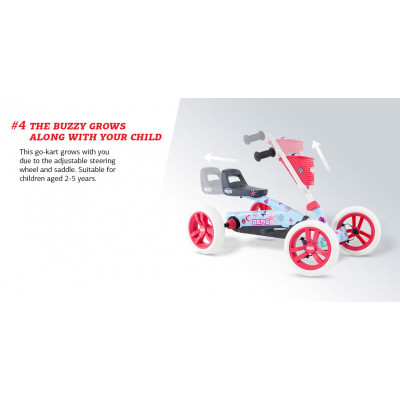 Веломобиль BERG Buzzy Fiat 500