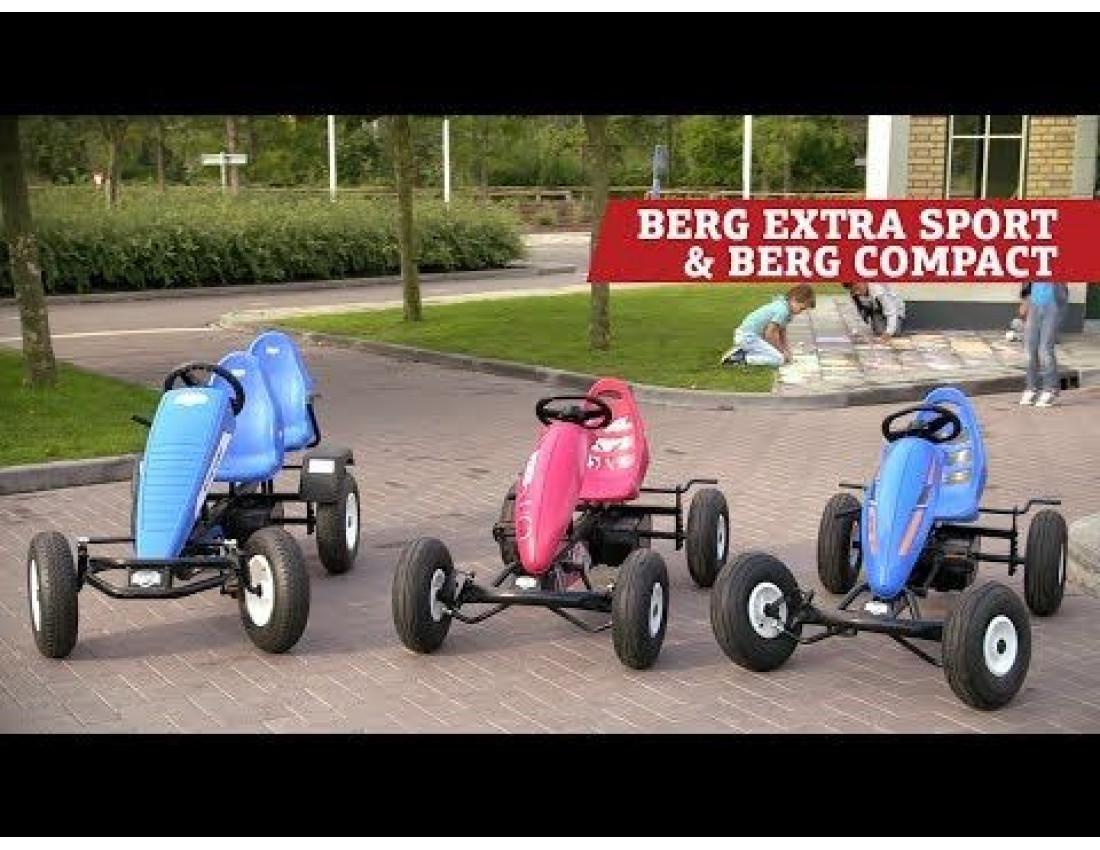 Веломобиль BERG Extra Red BFR