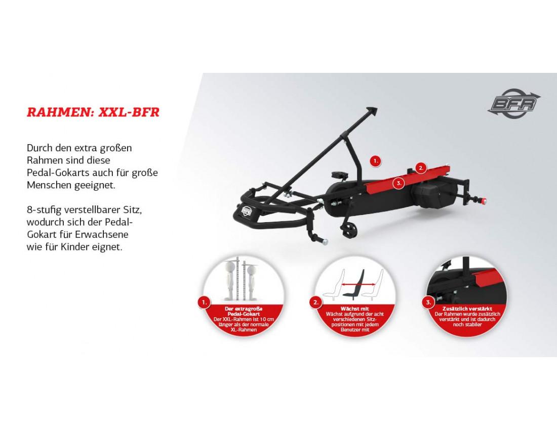 Веломобиль BERG Fendt BFR-3