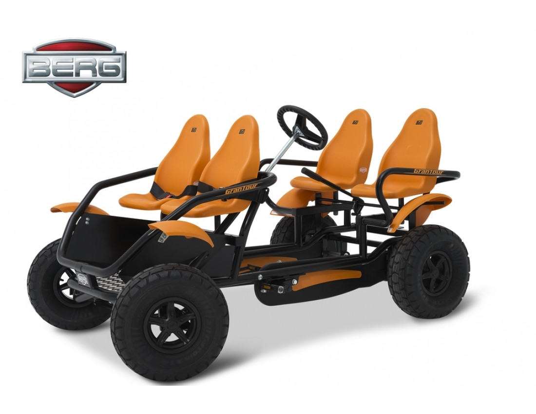 Веломобиль BERG GranTour F Off road  4-seater