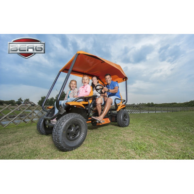 Веломобиль BERG GranTour F Off road  4-seater