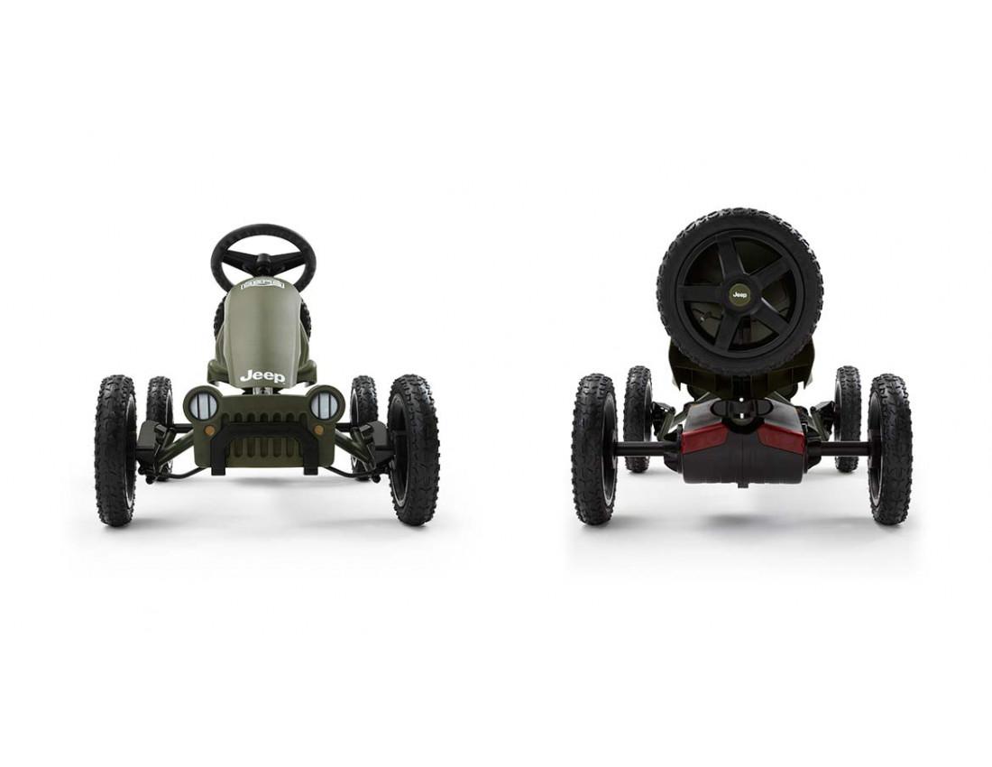 Веломобиль BERG Jeep Adventure Pedal  Go-kart