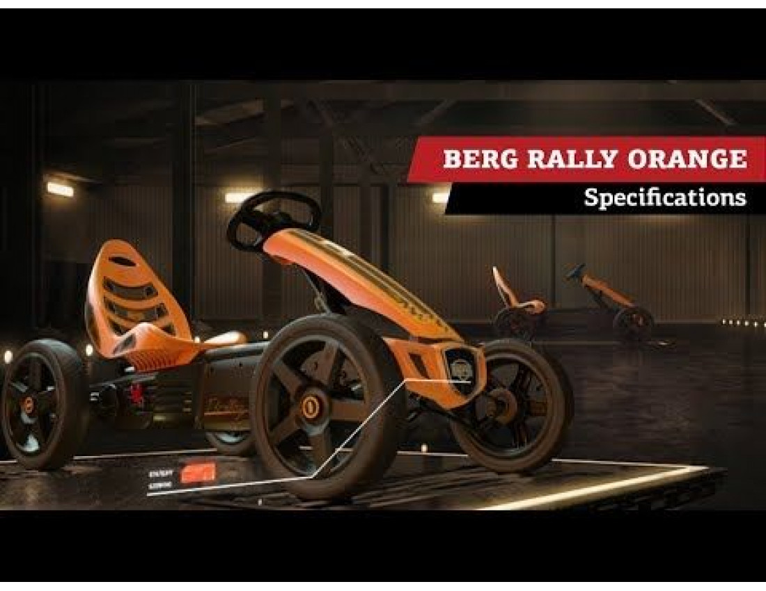 Веломобиль BERG Rally Orange