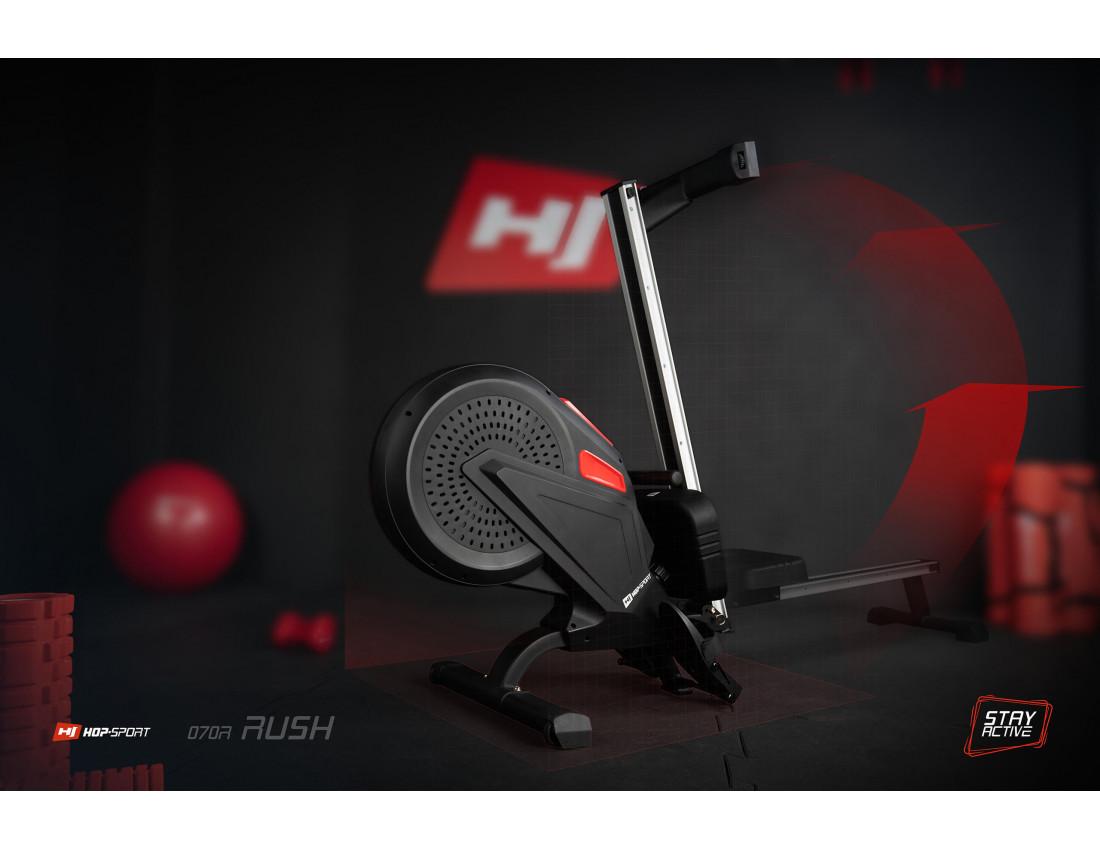 Гребной тренажер аэромагнитный Hop-Sport HS-070R Rush