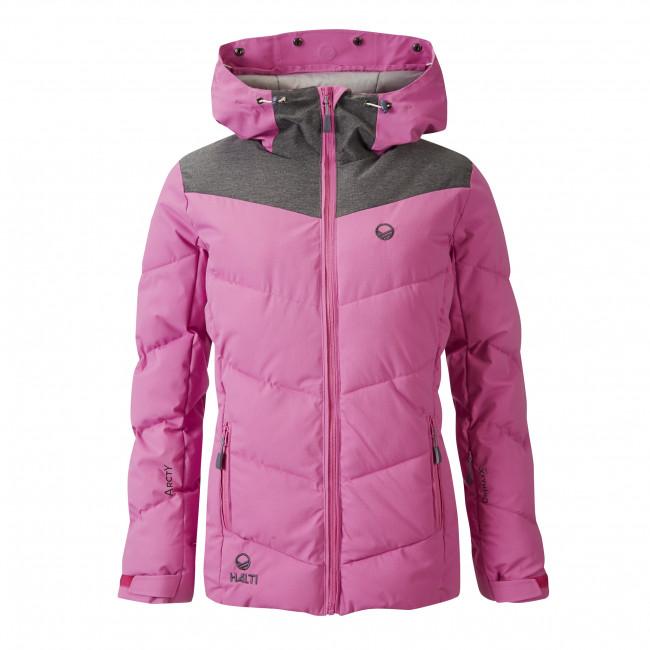 Женская пуховая куртка Halti Sammu DX 34 ski jacket Super Pink